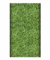 Feest papieren tafelkleed voetbal 180 cm