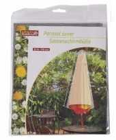 Feest parasolhoes 175 cm grijs lifetime garden