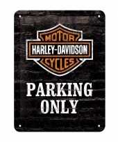 Feest parking only muurplaat 15 x 20 cm