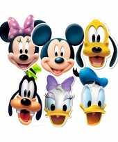 Feest party maskers mickey en vrienden