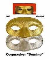 Feest party oogmaskers met glitters