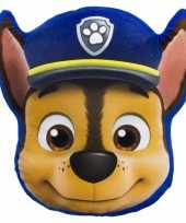 Feest paw patrol chase kussentje 35 x 31 cm