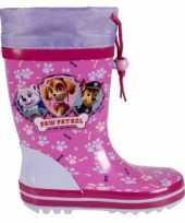 Feest paw patrol regenlaarzen voor meisjes