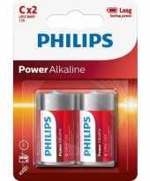Feest philips 1 5 volt batterijen 2 stuks