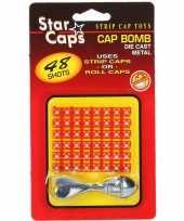Feest pijl met bommetjes