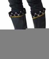 Feest piraten laars schoen hoezen voor heren
