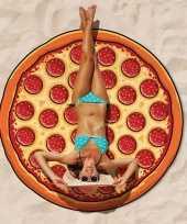 Feest pizza picknickkleed handdoek 150 cm