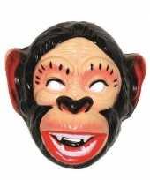 Feest plastic apen masker voor volwassenen