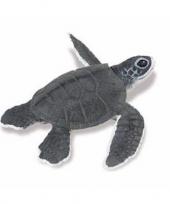 Feest plastic baby zeeschildpad 14 cm
