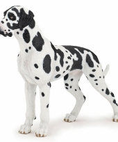 Feest plastic deense dog 12 cm