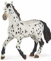 Feest plastic staand appaloosa paard 13 cm