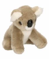 Feest pluche knuffel baby koala 13 cm