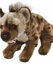 Feest pluche knuffel hyena 30 cm