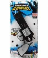 Feest politie militair speelgoed pistool 35 cm