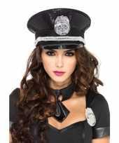 Feest politie petten met pailletten