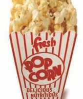 Feest popcorn versiering bord 150 cm