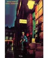 Feest poster david bowie 61 x 92 cm wanddecoratie