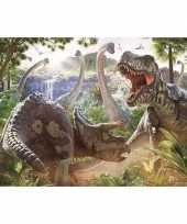 Feest poster dinosauriers 61 x 91 cm wanddecoratie