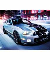 Feest poster ford shelby 61 x 91 5 cm