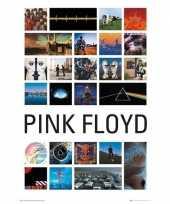 Feest poster pink floyd 61 x 92 cm wanddecoratie