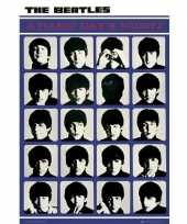 Feest poster the beatles 61 x 92 cm wanddecoratie