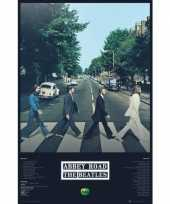 Feest poster the beatles abbey road 61 x 91 5 cm