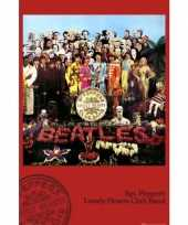 Feest poster the beatles sgt pepper 61 x 91 5 cm