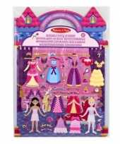 Feest prinsessen sticker set