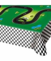 Feest race formule 1 thema tafelkleed 130 x 180 cm