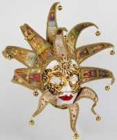 Feest reale tarot dames masker handgemaakt