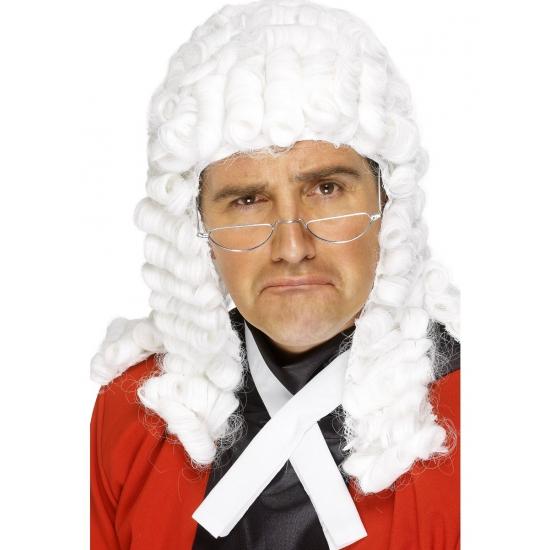 Feest rechters pruik voor volwassenen
