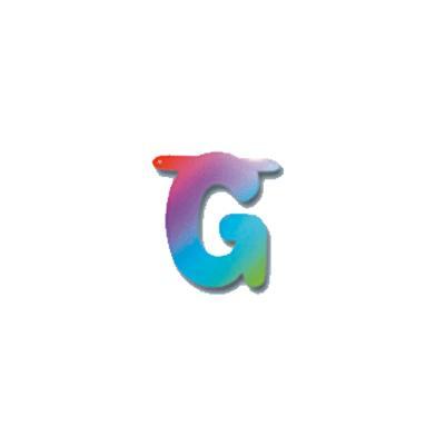 Feest regenboog letters g