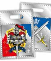 Feest ridder thema snoepzakjes