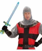 Feest ridder wapen opblaasbaar zwaard