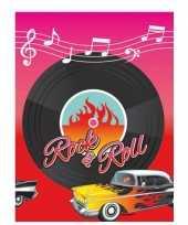 Feest rock and roll tafelkleed