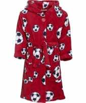 Feest rode badjas voetbal voor jongens