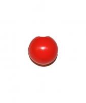 Feest rode clown neus zonder draad