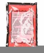 Feest rode kleurenpoeders 100 gram