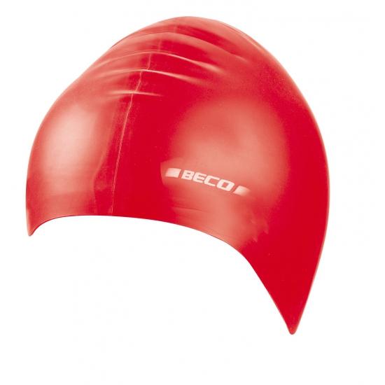 Feest rode siliconen badmuts voor kids
