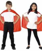 Feest rode superheld cape voor kids