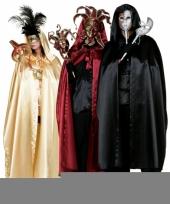 Feest rode venetiaanse cape voor volwassenen