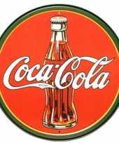Feest ronde metalen wandplaat coca cola
