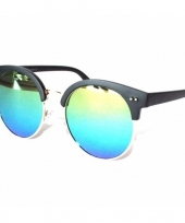 Feest ronde spiegel heren zonnebril model 1398