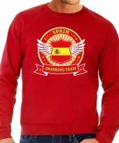 Feest rood spain drinking team sweater heren