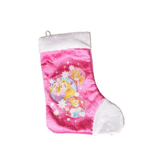 Feest roze disney kerstsok princess