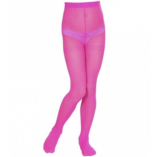 Feest roze gekleurde panty voor kids 10031121