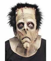 Feest rubber masker van een frankenstein