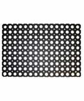 Feest rubberen deurmat buitenmat 60 x 40 cm