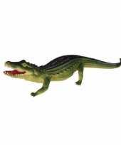 Feest rubberen krokodil 60 cm
