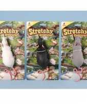 Feest ruberen speelgoed rat 28 cm